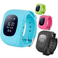 Детские умные часы GPS трекер Q50 W5 Bluetooth 4.0 GSM двухсторонняя голосовая связь, фото 1