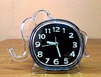 """Детские часы-будильник  """"Слон"""", черный, фото 1"""