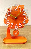 """Детские часы с маятником  """"Оранжевый домик"""", фото 1"""