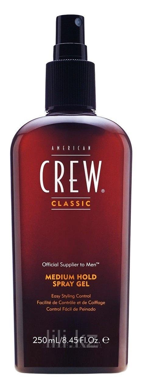 Спрей - гель для волос средней фиксации American Crew Classic Medium Hold Spray Gel 250 мл.