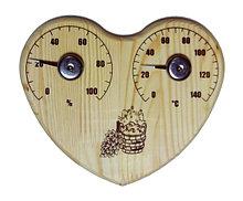Термометр, гигрометр, песочные часы, часы в предбанник