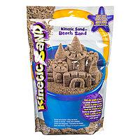 Песок для лепки Kinetic Sand морской песок 1,4 кг коричневый, фото 1
