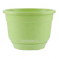 Горшок Флокс с поддоном салатовый 8,0 литров PALISAD 69220 (002)