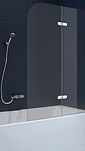 Шторка для ванны стеклянная New Trendy Fun 100