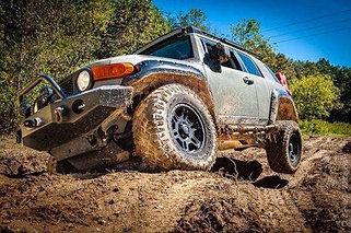 Усиленная подвеска Toyota Fj Cruiser