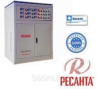 Трехфазный стабилизатор РЕСАНТА 100 кВт АСН-100000/3-ЭМ электромеханический, фото 1