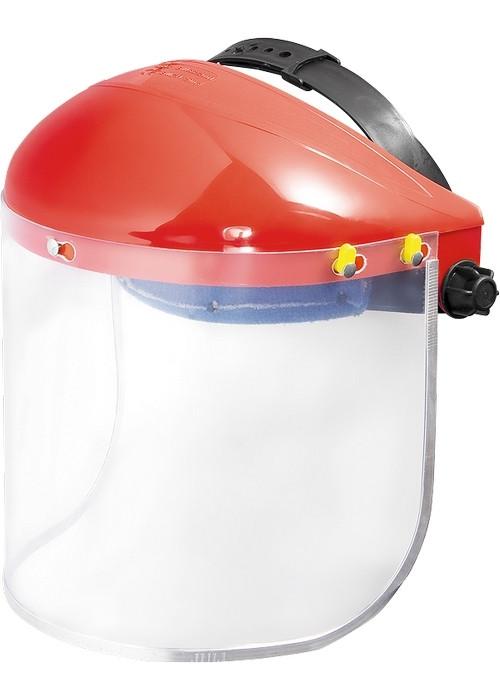 (89128) Щиток защитный, 400х200 мм, пластик, защита для лица, разборный корпус// MATRIX