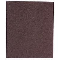 (75645) Шлифлист на тканевой основе, P 120, 230 х 280 мм, 10 шт., водостойкий// MATRIX