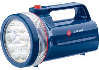 (90530) Фонарь поисковый светодиодный, пластиковый корпус, 30 часов непрерывной работы, 12Led, 4хLR20