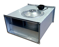 Прямоугольный канальный вентилятор с вперед загнутыми лопатками серии Line 400x200-4/3