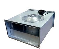 Прямоугольный канальный вентилятор с вперед загнутыми лопатками серии Line 400x200-4/1