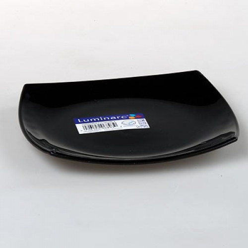 Тарелка десертная Luminarc Quadrato Black 19 см (H3670/D7214)
