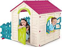 KETER Игровой Дом MY GARDEN HOUSE САДОВЫЙ Зелёный-бирюзовый (156x118x117h) (пластик двойной)