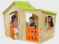 KETER Игровой Дом ВОЛШЕБНАЯ ВИЛЛА Бежево-оранжевый (169x110x126h)