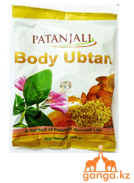 Убтан для лица и тела Патанджали (Body Ubtan PATANJALI), 100 гр