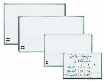 Доска Магнитно - маркерная (меловая), 90 х 120