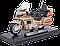 Игрушка модель мотоцикла 1:18 Honda Gold Wing, фото 5