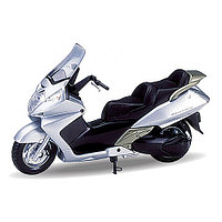 Игрушка модель мотоцикла 1:18  Honda Silver Wing, фото 1