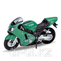 Игрушка модель мотоцикла 1:18 MOTORCYCLE / KAWASAKI 2001 NINJA  ZX-12R