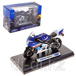 Игрушка модель мотоцикла 1:18 MOTORCYCLE / SUZUKI GSX-R750