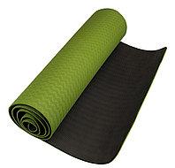 Антибактериальный коврик для йоги, фитнеса ECO-FRIENDLY TPE Yoga Mat, 6 мм, фото 1