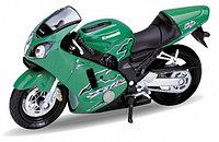 Мотоцикл Kawasaki Ninja ZX-12R 2001, 1:18