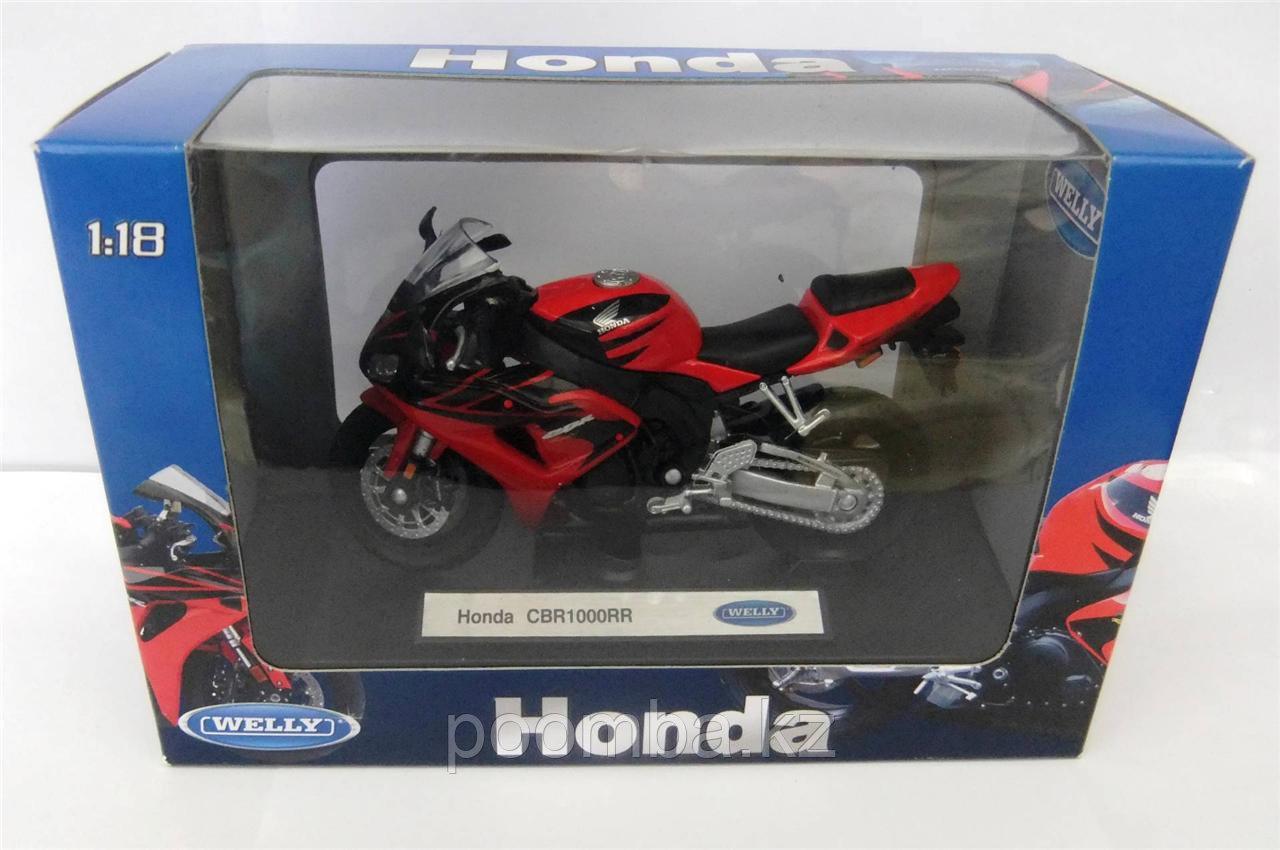 Модель мотоцикла Honda CBR1000RR, 1:18 - фото 5
