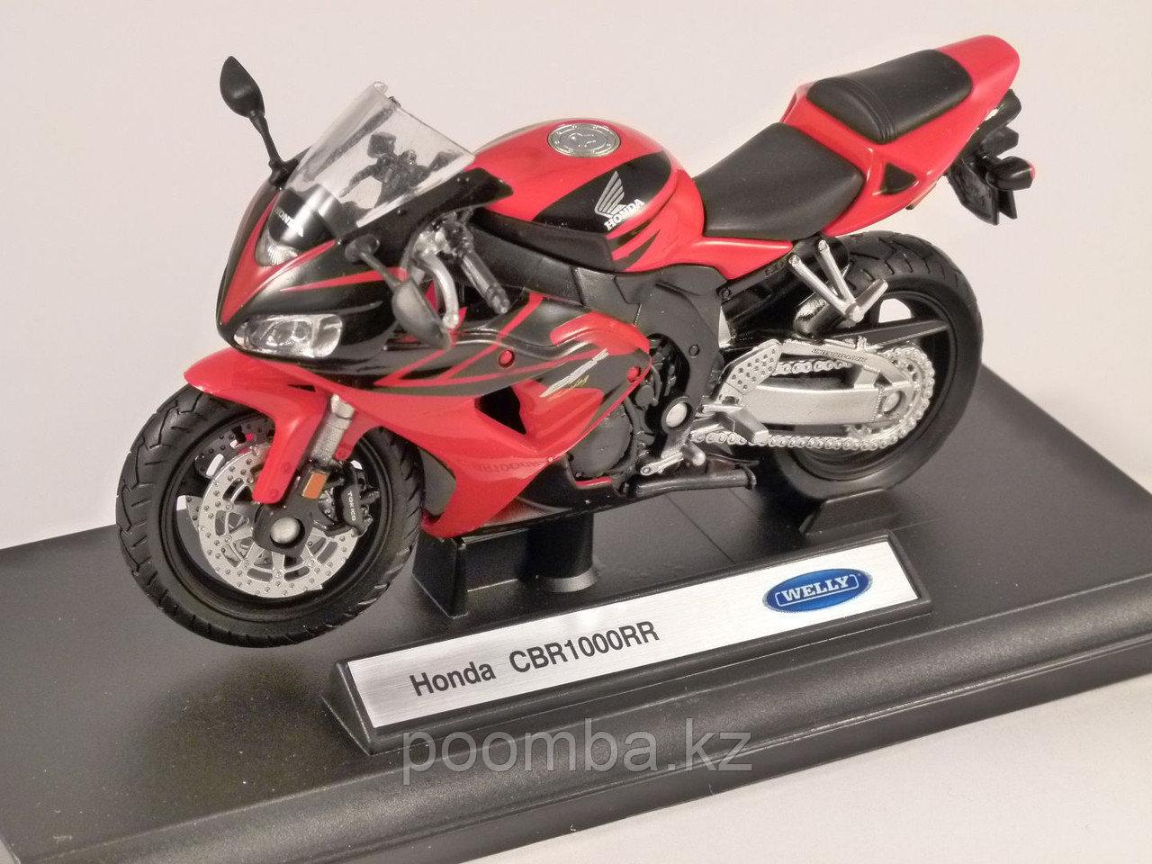 Модель мотоцикла Honda CBR1000RR, 1:18 - фото 2