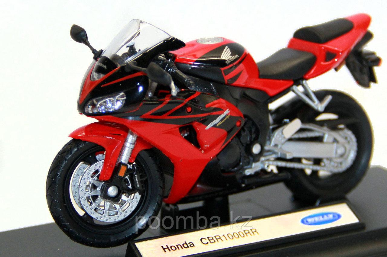 Модель мотоцикла Honda CBR1000RR, 1:18 - фото 3