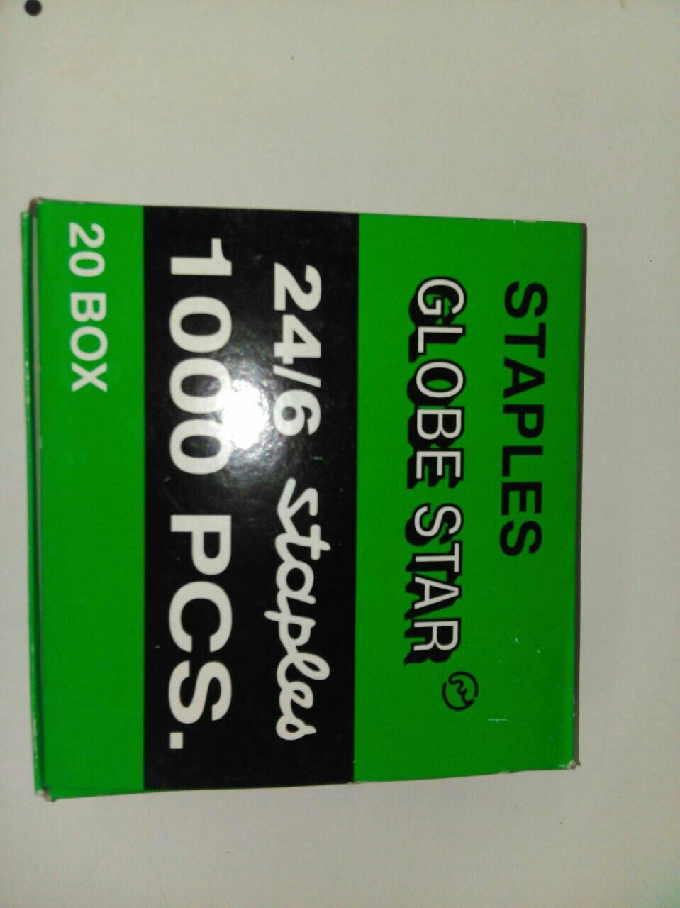 Скобы 10  1000 шт в уп Globus