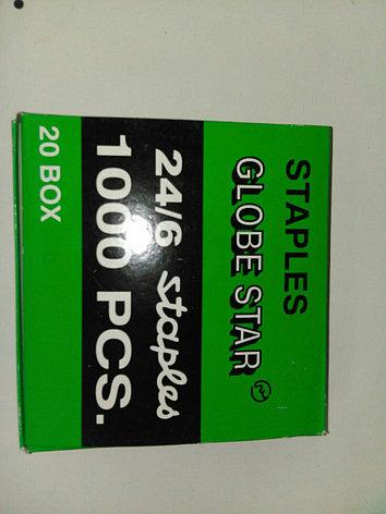 Скобы 10  1000 шт в уп Globus, фото 2