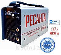 Инверторный сварочный аппарат Ресанта САИ 190 гарантия, доставка, купить в Алматы