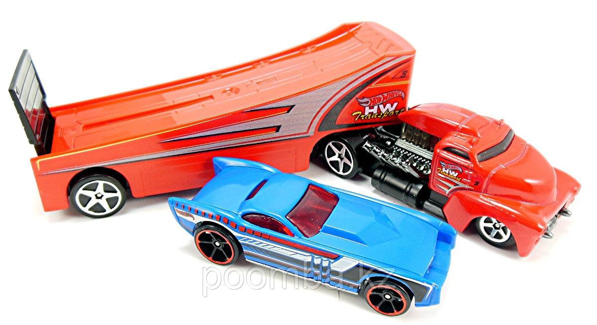 Трек-трейлер Hot Wheels - Rock N Race