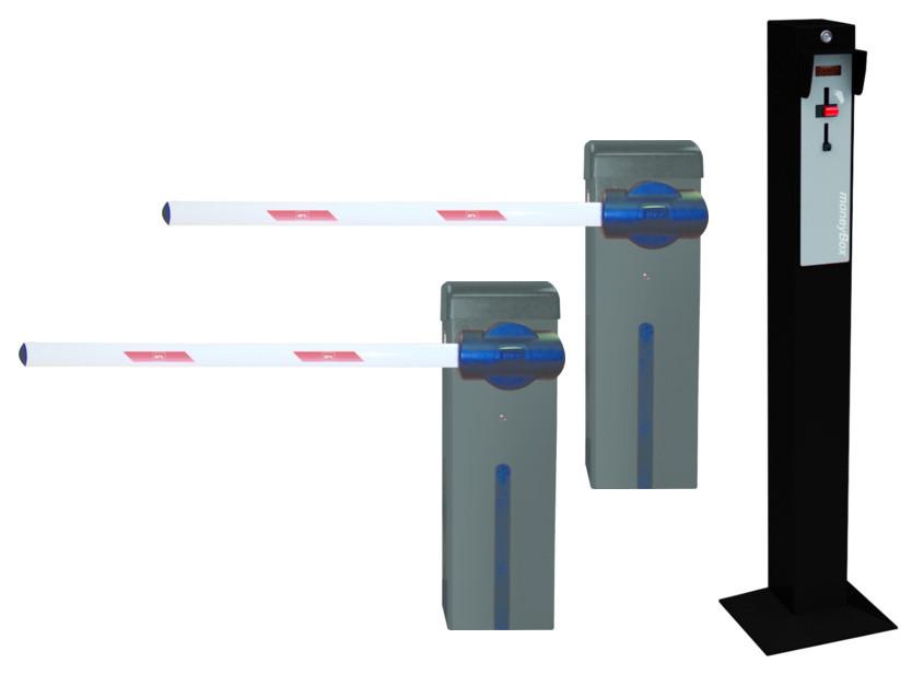 Оборудование для парковки с доступом по жетонам ESPAS10 MINI. BFT-Италия.