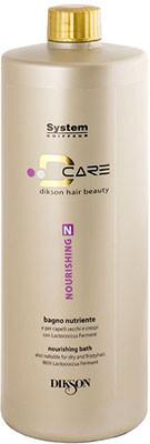 Питательный Шампунь для Сухих и Курчавых Волос  – Nourishing Bath Shampoo D Care Dikson 1000 мл.