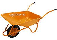 Тачка садово-строительная ТСО-02 крашенный кузов пневмоколесо г-п 120 кг объем 90 68908 (002)