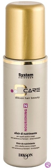 Питательный Эликсир для Сухих и Вьющихся Волос – Nourishing Elixir D Care Dikson 125 мл.
