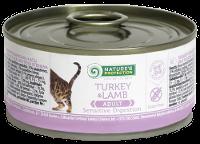 Влажный корм для кошек с чувствительным пищеварением Nature's Protection Sensible Digestion Turkey & Lamb