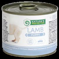 Влажный корм для щенков всех пород Nature's Protection Puppy Lamb с ягненком