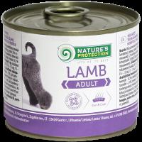 Влажный корм для собак всех пород Nature's Protection Adult Lamb с ягненком