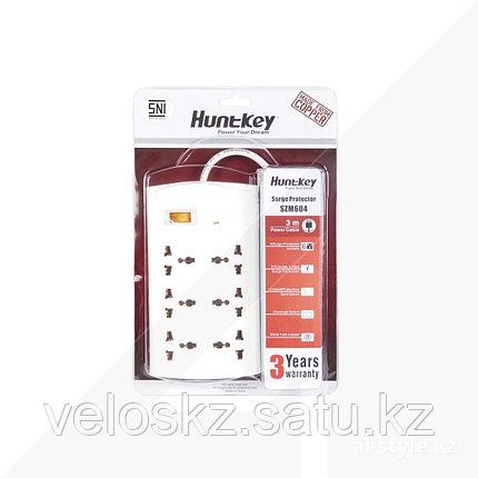 Сетевой фильтр HuntKey SZM604, 6 универсальных розетки, 3 м, фото 2