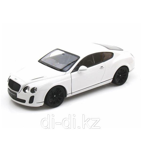 Игрушка модель машины 1:18 Bentley Continental Supersports