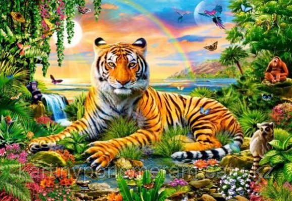 """Картина по номерам """"Тигрица"""""""