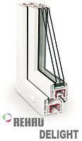 Пластиковые окна Rehau De-light