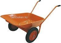 Тачка садово-строительная ТСО-2-02/01 двухколесная цельнолитое колесо г-п 120 кг 90 л 68929 (002)