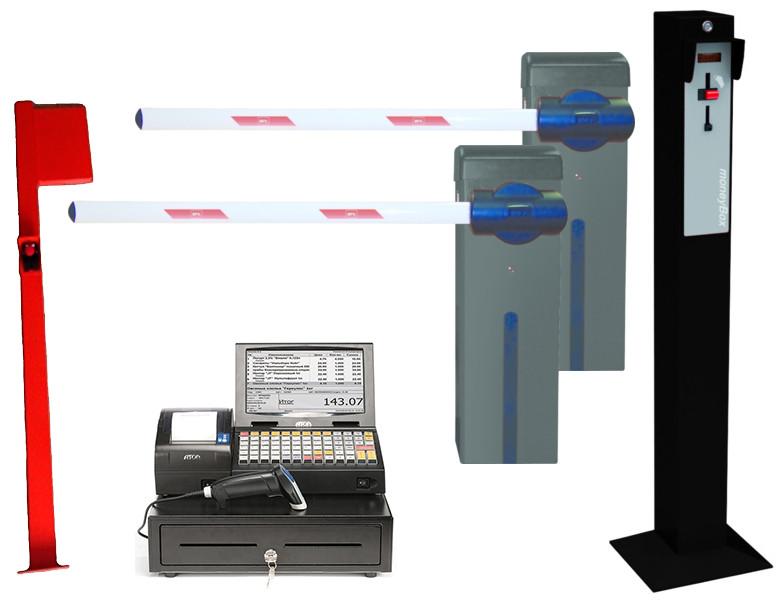 Оборудование для парковки с доступом по жетонам ESPAS10 Standart. BFT-Италия.