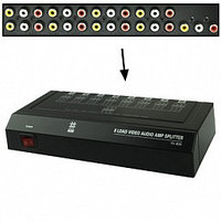 Аудио-видео разветвитель(сплиттер) 1х8  VSP 8(II), фото 1