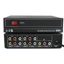Аудио-видео разветвитель(cплиттер) 1х4 канала VSP4