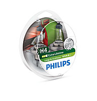 Лампа галогеновая PHILIPS 12342LLECOS2 H4 LongLife EcoVision 12V 60/55W ...