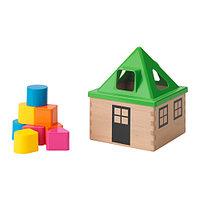 Игра Коробка д/головоломки МУЛА разноцветный ИКЕА, IKEA , фото 1